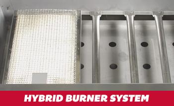 Hybrid Burner System