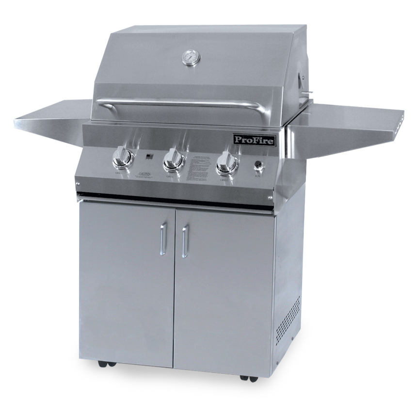 "26"" LX Series Cart shown with LX Series 26"" Grill Head"