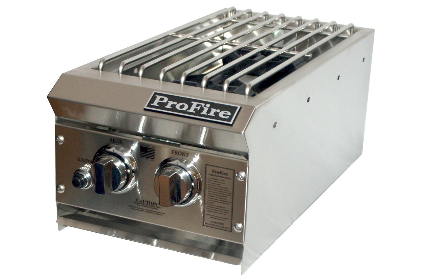 PF Series Double Side Burner