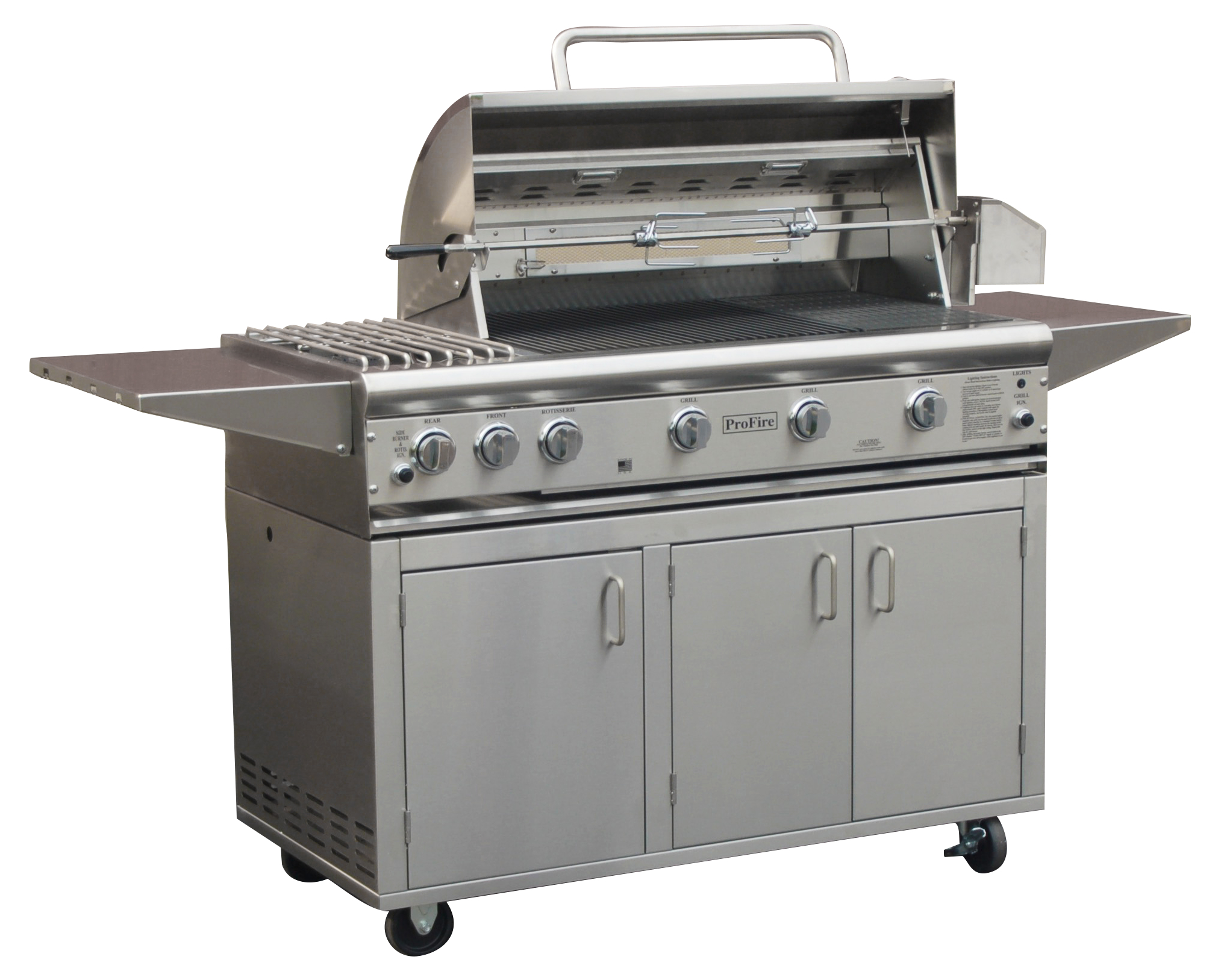 PFDLX 36 with Side Burner