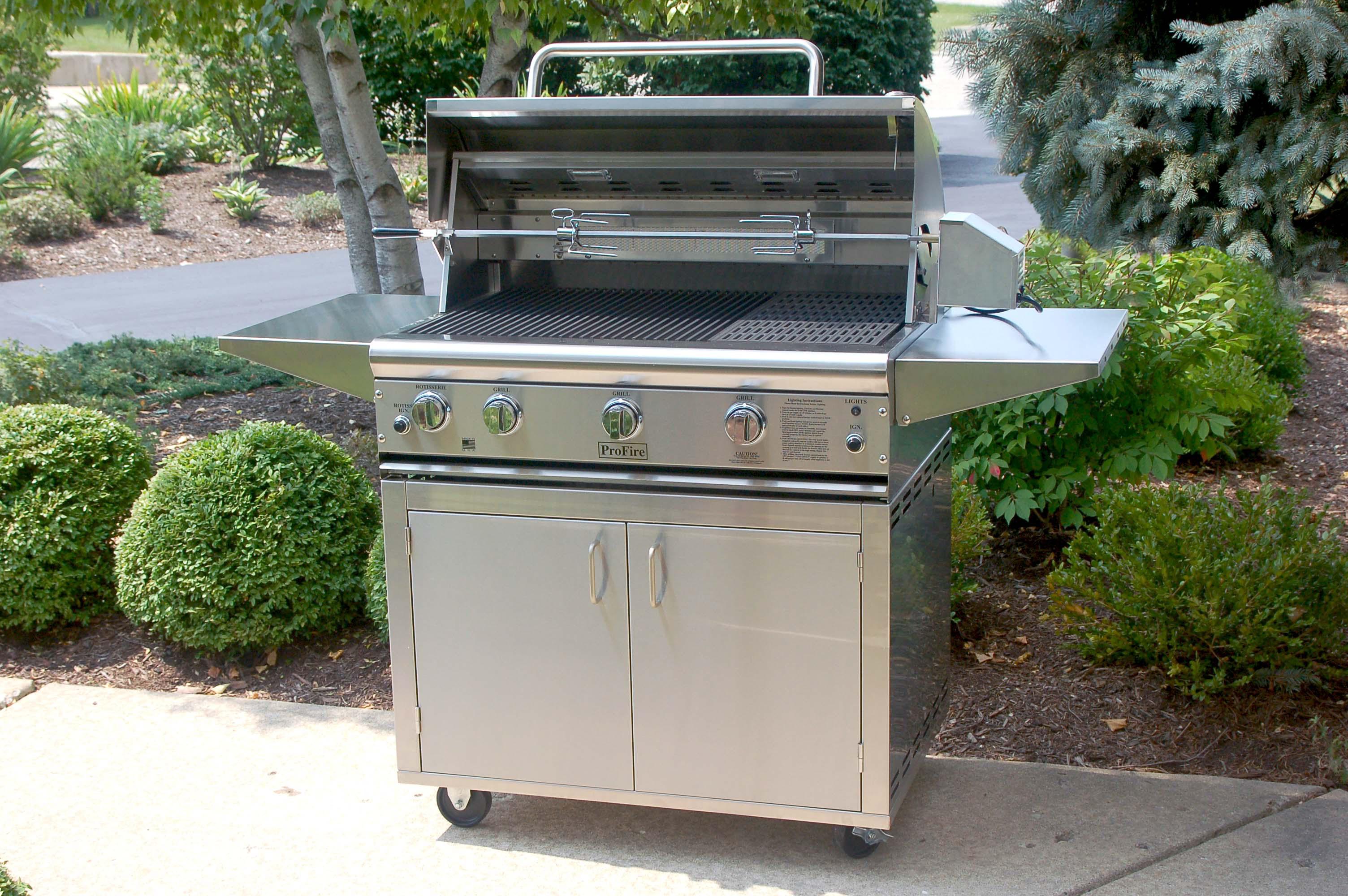 PFDLX 36 Cart Rotisserie