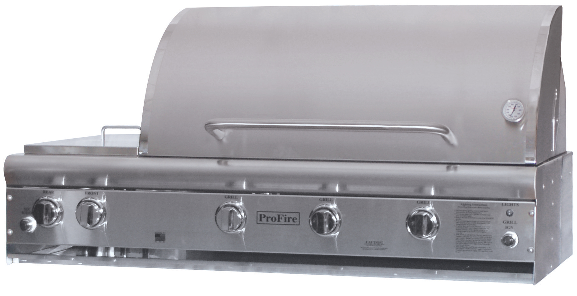 "PFDLX 36"" Grill Head with Side Burner"