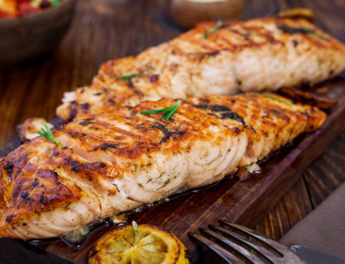 Vermouth Salmon Steaks