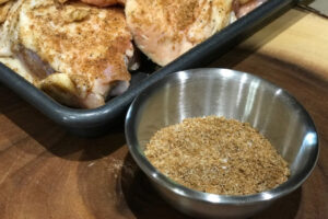 Sweet Rub for Grilled Chicken or Pork